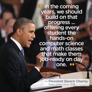 U narednim godinama treba da nastavimo taj napredak... Treba ponuditi svakom učeniku primenljivo znanje iz informatike i matematike kako bi od početka bili spremni za posao.