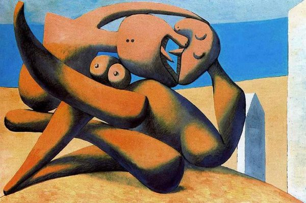 Pablo-Picasso-figures-at-the-seaside