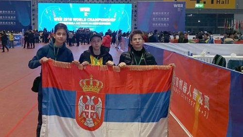 Tim Srbije na takmičenju u Šangaju / Večernje novosti
